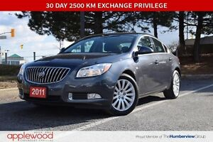2011 Buick Regal CXL, ONE OWNER, HEATED SEATS, BLUETOOTH