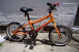 Pinnacle 14 inch kids orange bike
