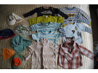 Bundle of Boys clothes Aged 1 to 2 (25 items)