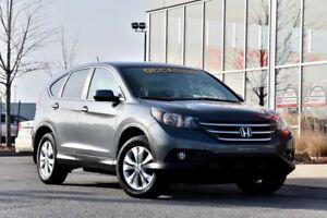 2013 Honda CR-V EX AWD Toit ouvrant, Caméra de recul, Certifié
