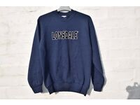 """Lonsdale Small Boys, Girls, Men's or Ladies Navy Blue Jumper / Sweater C37"""""""