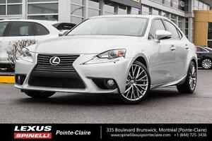 2014 Lexus IS 250 AWD PREMIUM CAMERA CUIR TOIT PREMIUM PACK: SUN