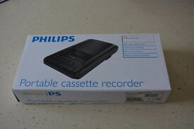Cassette Player - new still in box