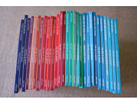 Set of 29 Thomas the Tank Engine hardback books