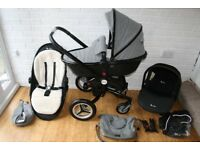 Silver Cross Surf 2 Special Edition Eton pram + car seat travel system 3 in 1 CAN POST
