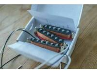 MUST SEE - handmade scatter wound pickups (not fender bare knuckle seymour duncan di marzio)