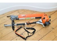 Stihl KM130/R Combi engine and HL 135 hedge cutter attachment 2015