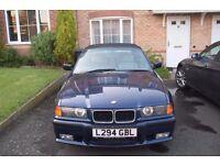 BMW 325i convertible, M package, future classic car, amazing condition, e36 not e30 or e46