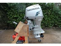 Honda 50hp Long shaft Electric start four stroke Outboard + remotes + tank 4 RIB fishing speed boat