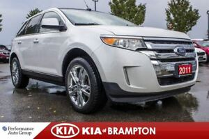 2011 Ford Edge Limited. ROOF. NAVI. CAM. LEATHER. PREMIUM AUDIO