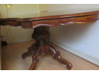 Special, pretty, Antique dining table
