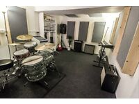 New High End Rehearsal Room & Music Studio - Fully Equipped. From £30 a session / £130 month