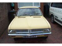 Vauxhall Viva Car seats / interior Wanted, 2 Door HC Model / Vauxhall Chevette 2 door seats fit