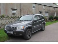 Jeep Grand Cherokee Overland HO - Highest Spec WJ