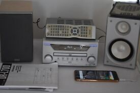 TEAC DR700 CD/DVD/RADIO/AUX IN/MANUEL/REMOTE/CAN BE SEEN WORKING
