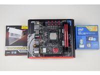 Intel Core i5-4690k 3.5GHz Quad Core ITX Bundle