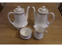 Royal Albert Paragon Belinda Tea / Coffee Pots / Milk Jug / Sugar Bowl