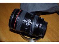 Canon EF 24-105mm IS USM f/4 L-series lens
