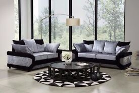 wow amazing offer== BRAND NEW DINO CRUSHED VELVET CORNER SOFA AVAILABLE CORNER AND 3+2 SUITE