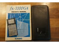 Casio fx-7000 GA calculator