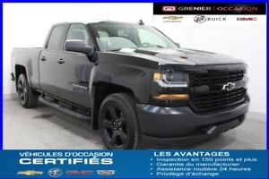2016 Chevrolet SILVERADO 1500 4WD DOUBLE CAB BLACK OUT MAG 20''É