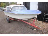 Boat. Broom Scorpio, Trailer. - Outboard Option