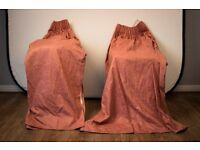 Pair of Quality Hand Made Curtains bargin priced to sell