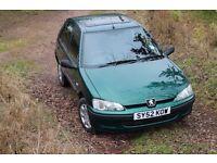Peugeot 106 2002 1.1 Petrol 5 Door