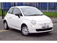 2010 FIAT 500 POP 1.2 PETROL*START/STOP FUNCTION*3 MONTHS WARRANTY*2 KEYS*NEW MOT & SERVICE*