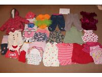 Girls 9-12 Months Baby Clothes Bundle B