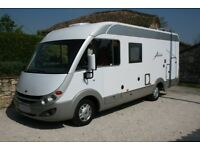 Motorhome Burstner Aviano i675g - LHD - LOW MILEAGE - Security System, Diesel heating and more.