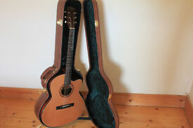 FINLAYSON JSM-50-LTD EDITION JUMBO ELECTRO ACOUSTIC GUITAR