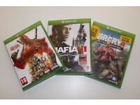 Xbox One Games- Mafia 3 £15, Far cry 4 £10, Deadpool £10.