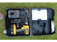 2 x Dewalt DC725 including Case, Charger and 2 batteries.