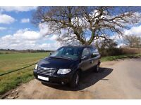 LHD Chrysler Grand Voyager 2.8 CRD, limited edition stow'n'go, 2008