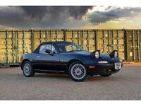 Eunos, (Mazda MX5) R-Limited 1.8, Manual 5-Speed, Blue With Red Leather, Full Service - Very Rare