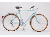 """Peugeot Vintage Town Bike - 56cm/22"""" Medium Mens/Womens Classic French 3 Speed City Bicycle"""