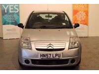 57 CITROEN C2 , IDEAL FIRST CAR DOCUMENTED HISTORY CONFIRMING CAMBELT CHANGE ETC 10 ,OOO MILES AGO