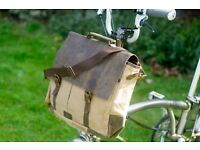 New Exclusive Messenger Bag for BROMPTON in MILKY COFFEE