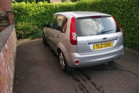 2007 Ford Fiesta Zetec 12.5 Great All-Round Condition