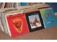 """350 x 7"""" Vinyl Records Collection... Rock / New Wave / Punk / Indie"""