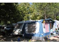 4 berth caravan plus awing