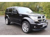 2008 Dodge Nitro 2.8 Diesel Auto Full Leather Sat-Nav 20''Alloys ex-Condition £4700