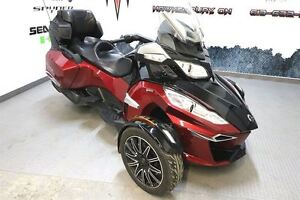 2015 can-am Spyder RT-S Special Series SE6; $66.98/week (120 mon