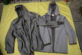 Vintage 1980s German Army Issue Parka (Size Large / Short) for 105cm to 110cm chest