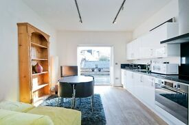 Amazing two bedroom apartment to rent Kentish Town! £360 pw with large roof terrace!