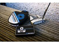 Odyssey Works Tank Cruiser #7 Putter 35 Inches with full weights kit and headcover