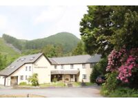 Wanted Kitchen front of house staff & house keeper in Snowdonia National park