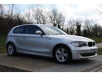 2007 BMW 1 Series 2.0 118i SE 3dr AUTO, LOW MILEAGE, LEATHERS, 3M WARRANTY, PX WELCOME