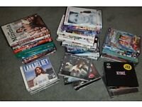 Large DVD and CD Bundle Films, Comedy, Music, Children's £15